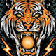 TIGER HEAD T-SHIRT - GraphicRiver Item for Sale
