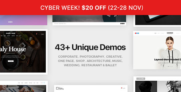 FatMoon | Creative & Photography Multi-Purpose Theme - Creative WordPress