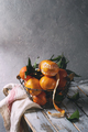 Clementines with leaves - PhotoDune Item for Sale