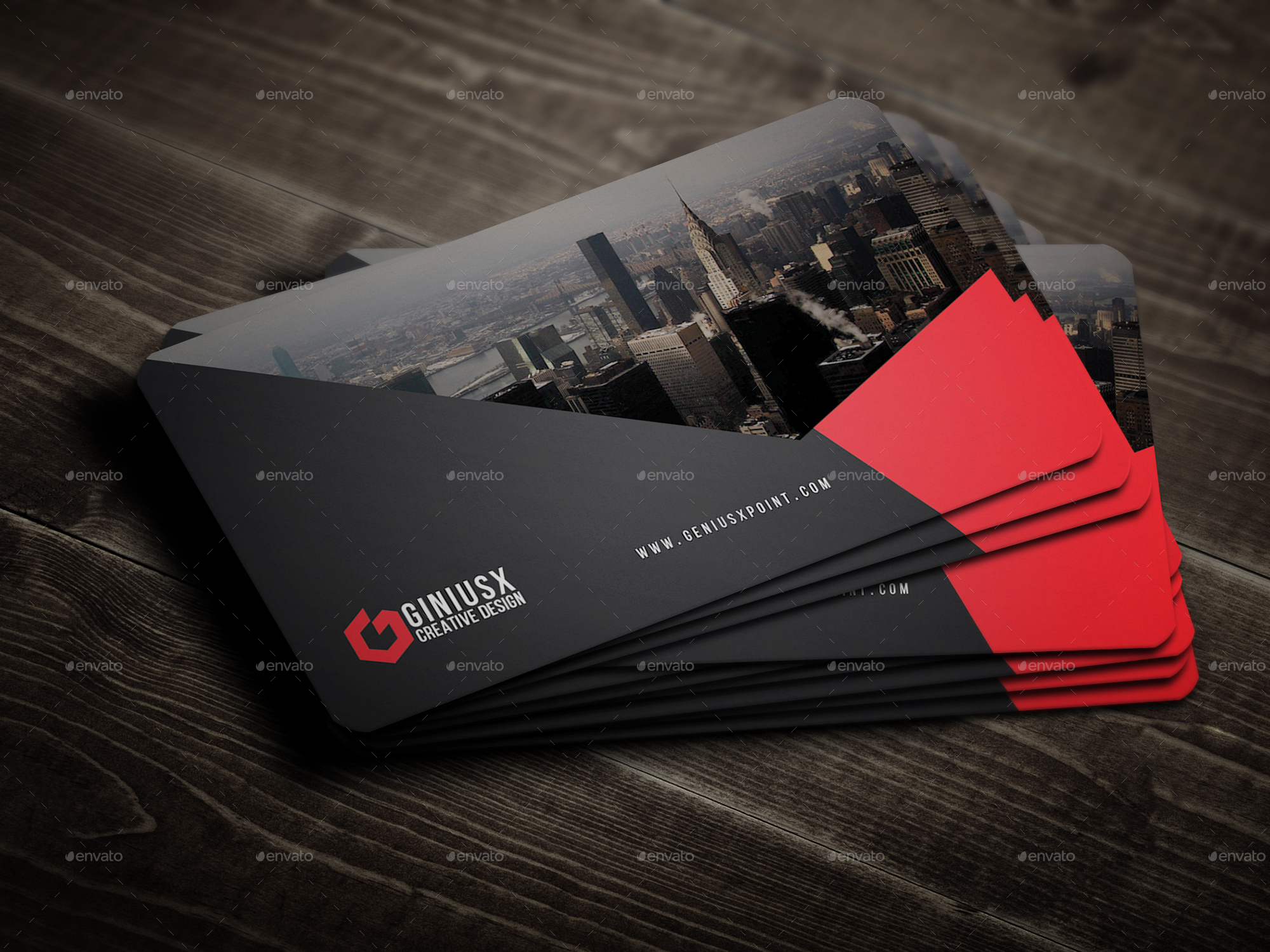 Creative Business Card by GeniusPoint | GraphicRiver