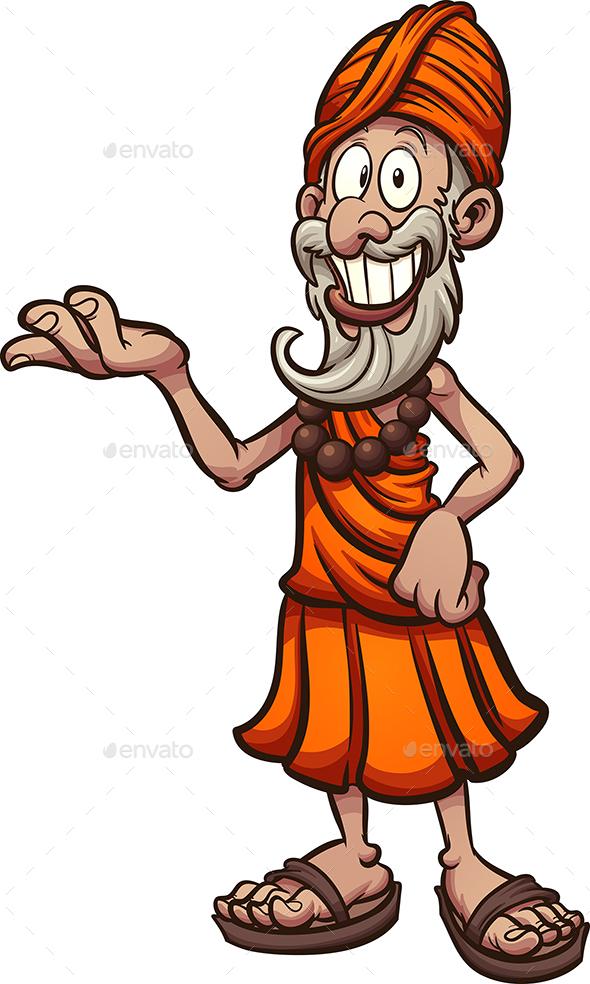 Guru Cartoon - People Characters