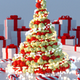 Abstract Christmas Tree (5 versions) - VideoHive Item for Sale