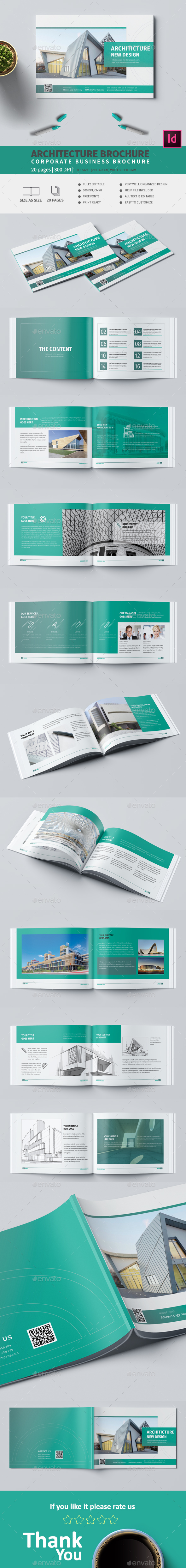 Architecture A5 Brochure - Corporate Brochures