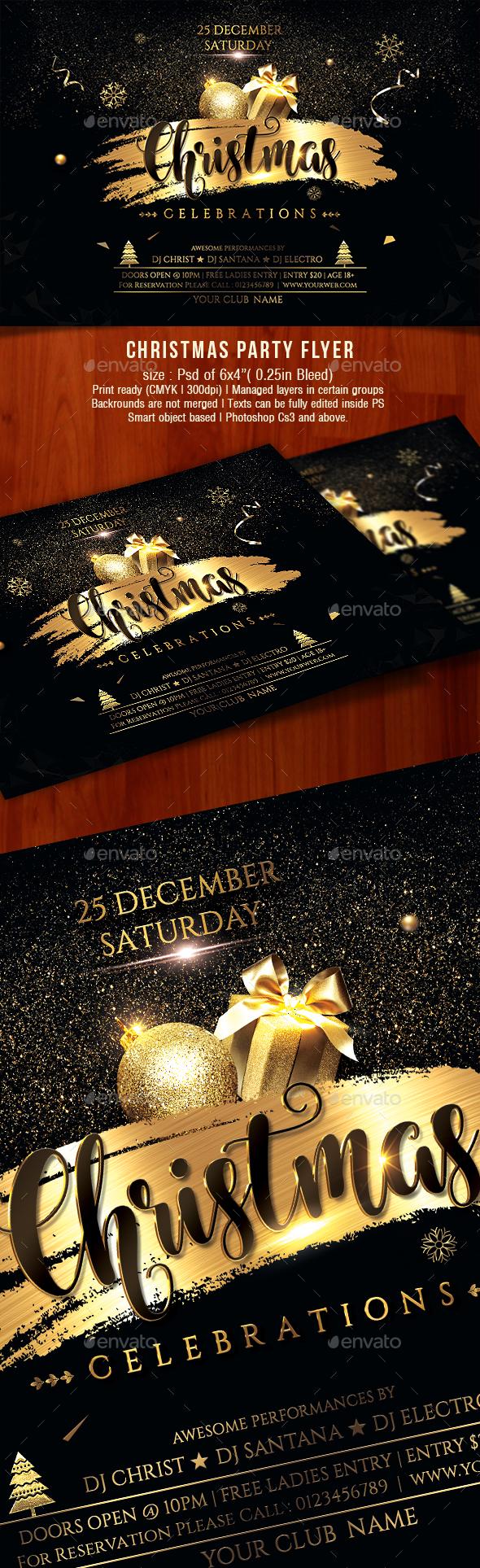 GraphicRiver Christmas Flyer 21023717
