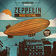Sky Zeppelin Flyer Template - GraphicRiver Item for Sale