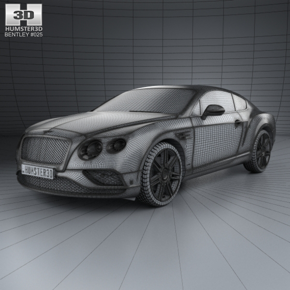 Bentley Continental Gt 2015: Bentley Continental GT 2015 By Humster3d