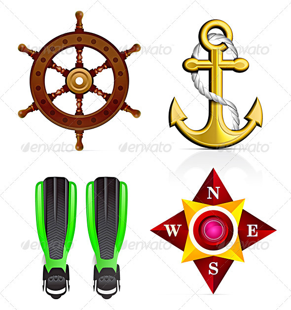 Sailor Icon Set - Miscellaneous Characters
