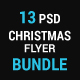 Christmas Flyer Bundle (5 sets)