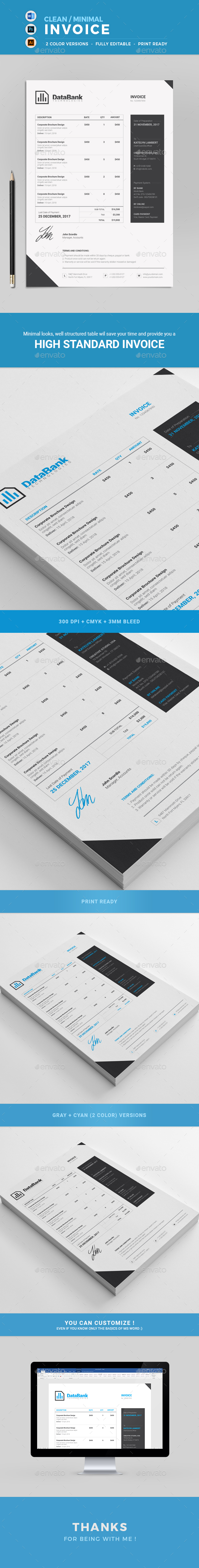GraphicRiver Invoice 21024526