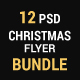 Christmas Flyer Bundle_02 (5 sets)