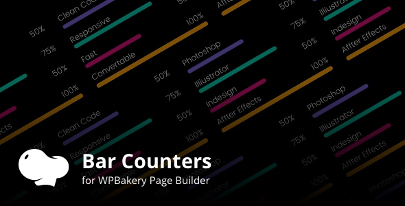 CodeCanyon Bar Counters Addons for WPBakery Page Builder Wordpress Plugin 21024699