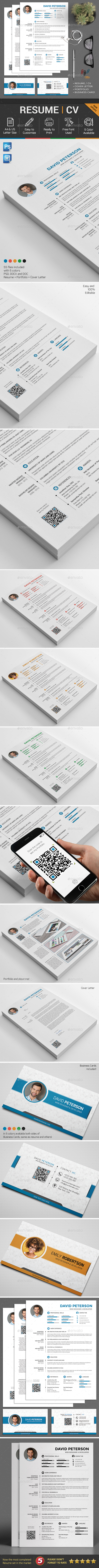 Resume CV Set - Resumes Stationery
