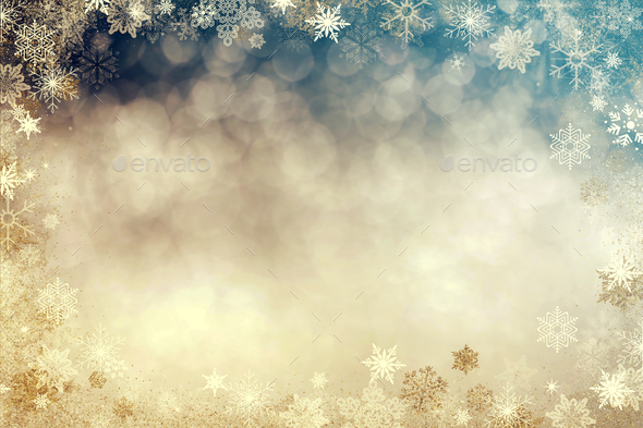 Christmas sparkling background - Stock Photo - Images