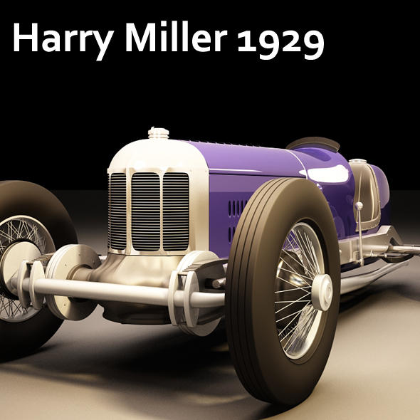 Harry Miller 1929 - 3DOcean Item for Sale