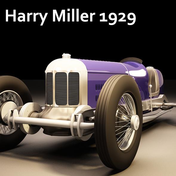Harry Miller 1929 - 3DOcean Item for Sale