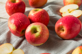 Raw Red Organic Pink Lady Apples - PhotoDune Item for Sale