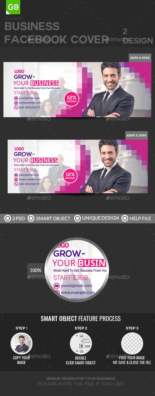 GraphicRiver Facebook Cover 21025325