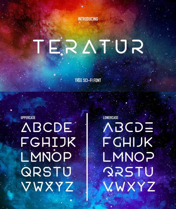 GraphicRiver Teratur Typeface 21025410