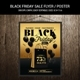 Black Friday Sale Flyer / Poster - GraphicRiver Item for Sale