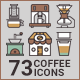 Coffee Icons - GraphicRiver Item for Sale