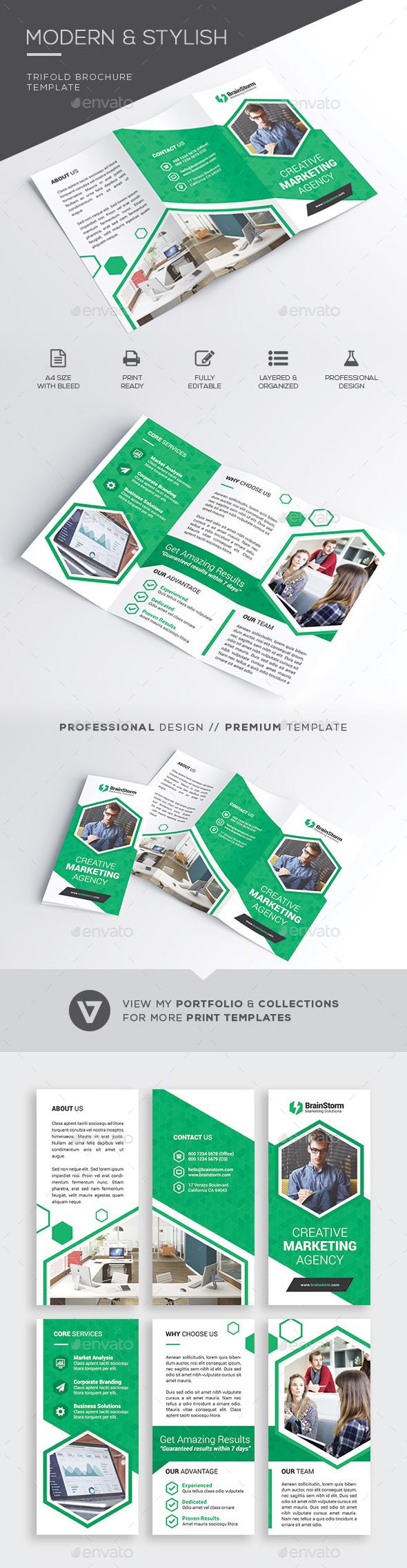 GraphicRiver Trifold Brochure 21025535