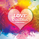Love Colors Music Festival Flyer Template