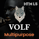 Volf - Creative Multipurpose HTML Template - ThemeForest Item for Sale
