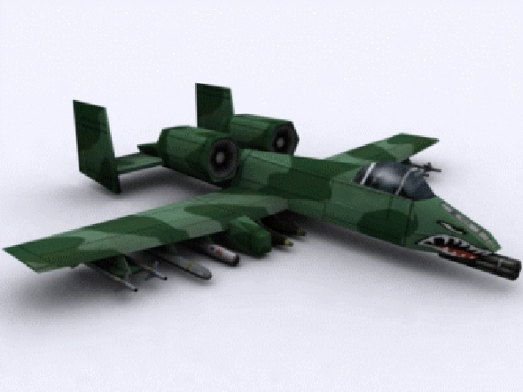 3DOcean A-10 Thunderbolt II 21025613