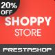 Shoppy Store - Responsive Prestashop Theme - ThemeForest Item for Sale