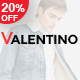 Valentino - Responsive Fashion Prestashop Theme