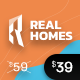Real Homes - WordPress Real Estate Theme - ThemeForest Item for Sale