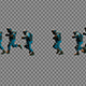 Large Group Of Running Soldiers - VideoHive Item for Sale