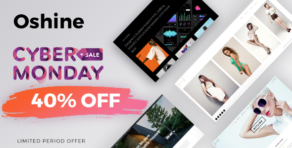 Oshine - Multipurpose Creative Theme - Portfolio Creative
