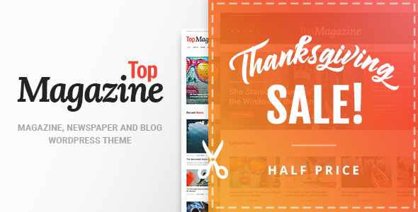Top Magazine - News, Blog & Magazine WordPress Theme - News / Editorial Blog / Magazine