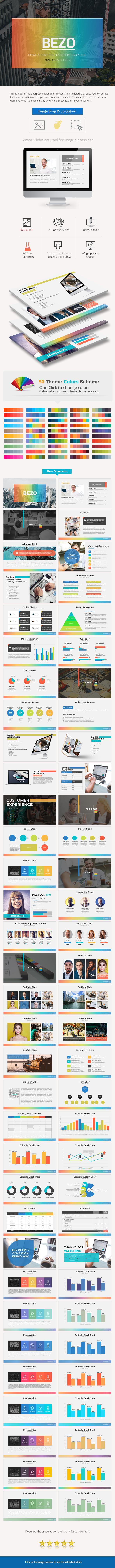 Bezo Power Point Presentation - Business PowerPoint Templates