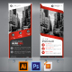 Red Business Roll Up - GraphicRiver Item for Sale