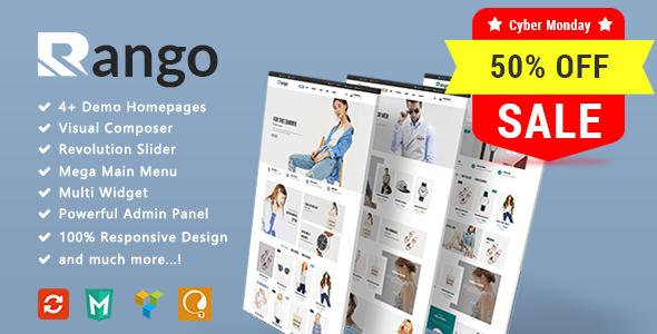 Rango - Fashion Responsive WooCommerce WordPress Theme - WooCommerce eCommerce