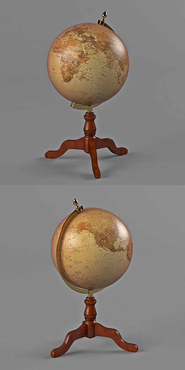 3DOcean desktop globe 21027345