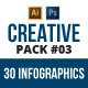 Creative infographic pack v.03 - GraphicRiver Item for Sale