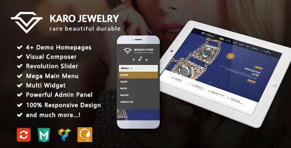 Karo - Jewelry Responsive WooCommerce WordPress Theme