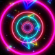Neon Geometric Tunnel VJ Loop - VideoHive Item for Sale
