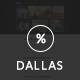 Dallas - Text Based Responsive WordPress Blog Theme - ThemeForest Item for Sale