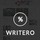 Writero - Elegant WordPress Blog Theme - ThemeForest Item for Sale