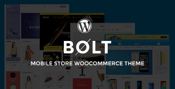 Bolt - Electronics, Furniture, Gym & Fashion Store Multipurpose WooCommerce WordPress Theme - WooCommerce eCommerce