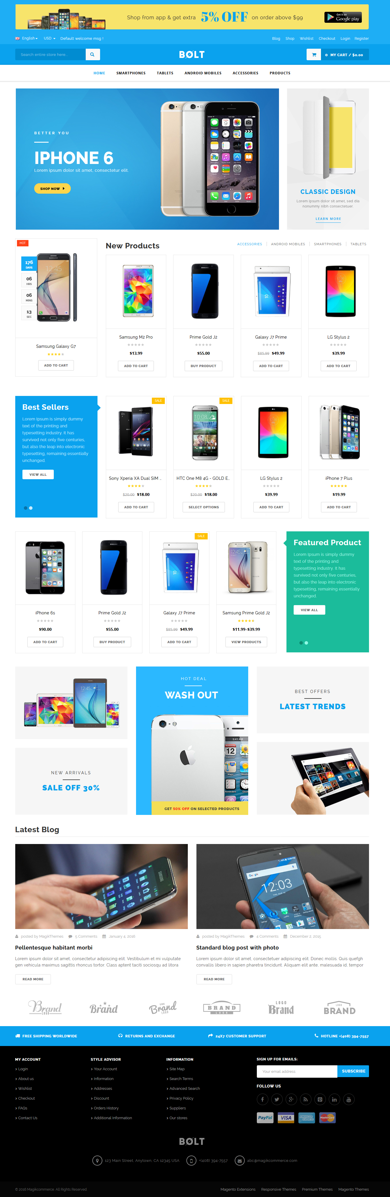 Bolt - Electronics, Furniture, Gym & Fashion Store Multipurpose WooCommerce WordPress Theme