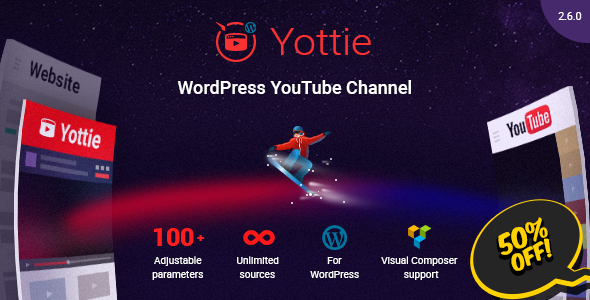 YouTube Plugin - WordPress Gallery for YouTube - CodeCanyon Item for Sale