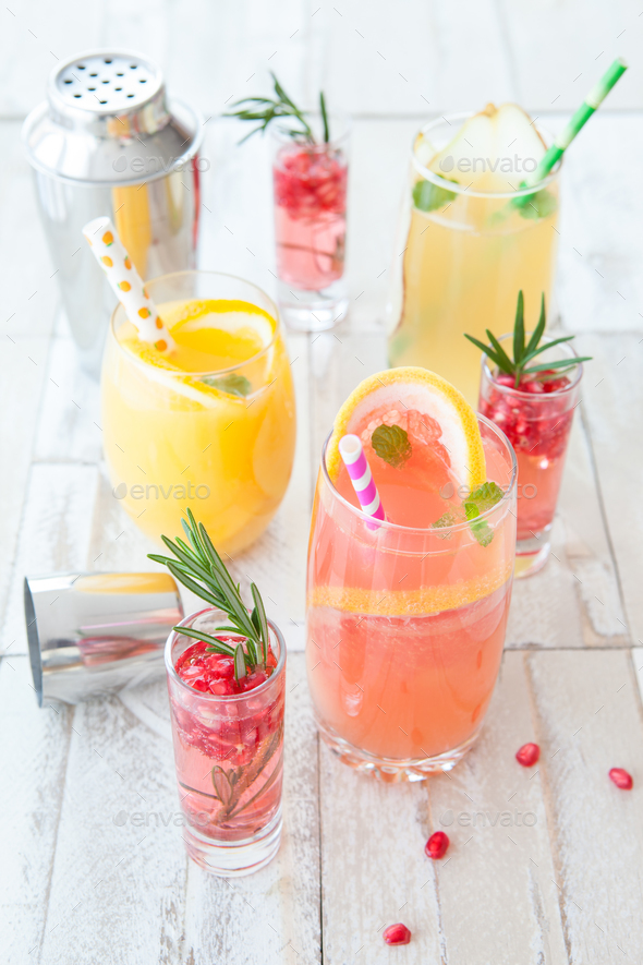 Bubbly cocktail - Stock Photo - Images