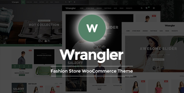 Wrangler - Fashion Store WooCommerce WordPress Theme - WooCommerce eCommerce