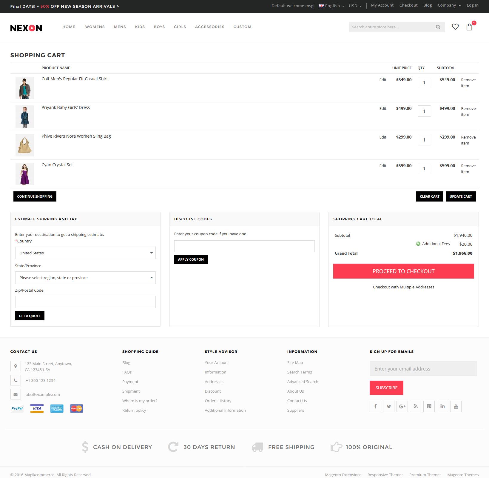 Nexon store - 5pm promo code