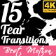 15 Tear Transitions - VideoHive Item for Sale